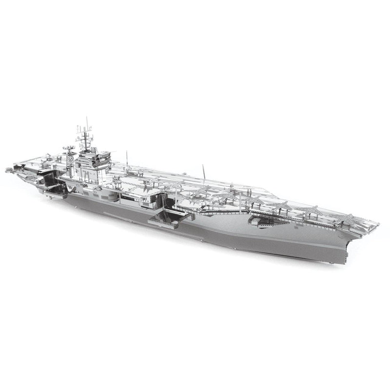 Metal Earth Premium Series USS Theodore Roosevelt CVN-71 Aircraft Carrier-Metal Earth-At Play Toys