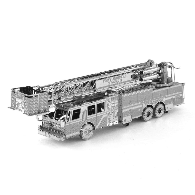 Metal Earth Fire Engine Ladder Truck-Metal Earth-At Play Toys