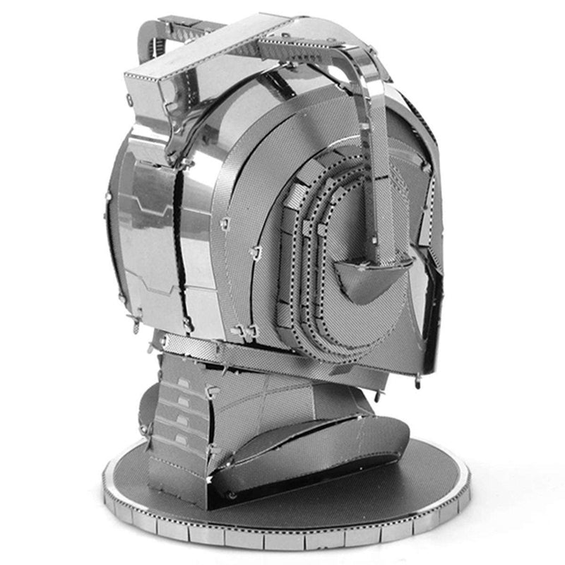 Metal Earth Doctor Who Cyberman Head-Metal Earth-At Play Toys