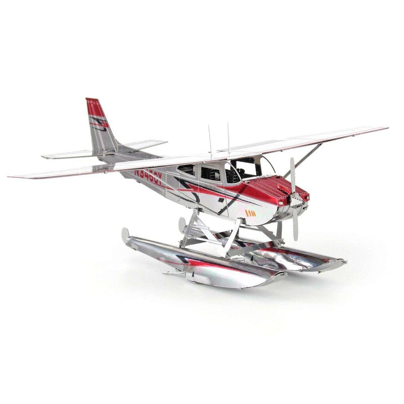 Metal Earth Cessna 182 Floatplane-Metal Earth-At Play Toys