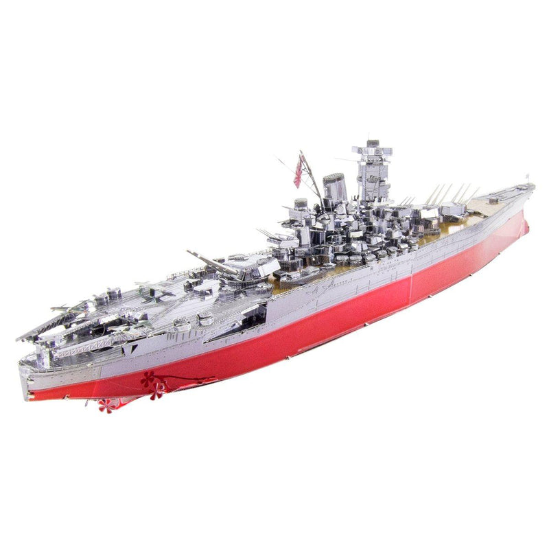 Metal Earth Premium Series Yamato Battleship-Metal Earth-At Play Toys