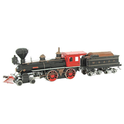 Metal Earth Wild West 4-4-0 Locomotive-Metal Earth-At Play Toys