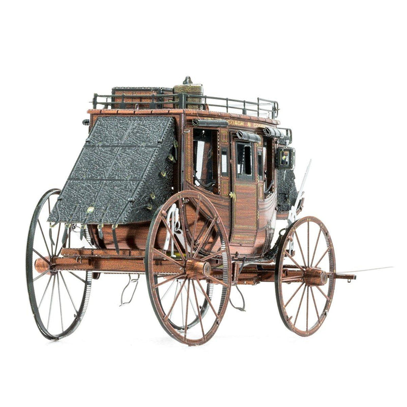 Metal Earth Wild West Stagecoach-Metal Earth-At Play Toys