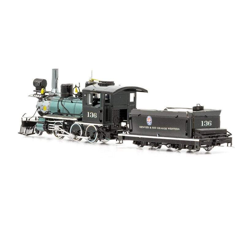 Metal Earth Wild West 2-6-0 Locomotive-Metal Earth-At Play Toys