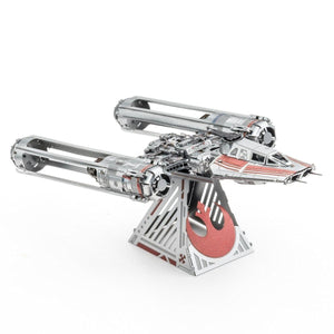 Metal Earth Star Wars Zorii's Y-Wing Fighter-Metal Earth-At Play Toys