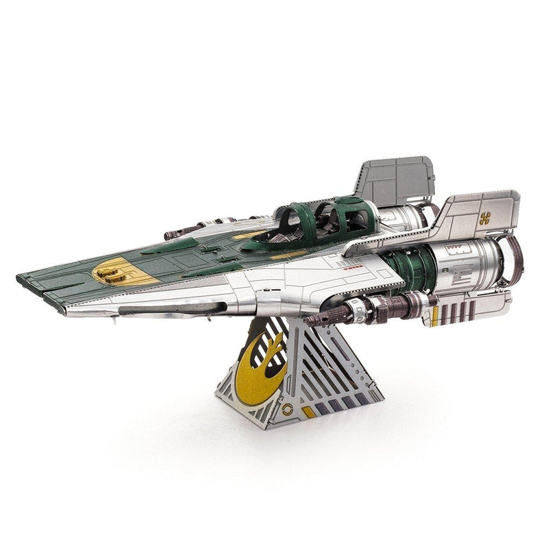 Metal Earth Star Wars Resistance A-Wing Fighter-Metal Earth-At Play Toys