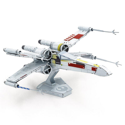 Metal Earth ICONX Star Wars X-Wing Starfighter-Metal Earth-At Play Toys