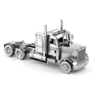 Metal Earth COE Long Nose Semi Truck-Metal Earth-At Play Toys