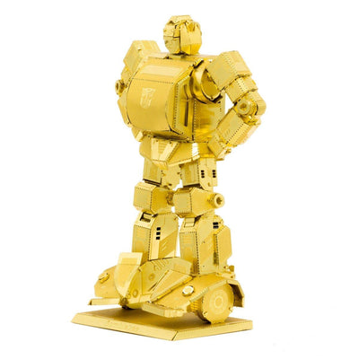 Metal Earth Transformers Bumblebee Gold Version-Metal Earth-At Play Toys