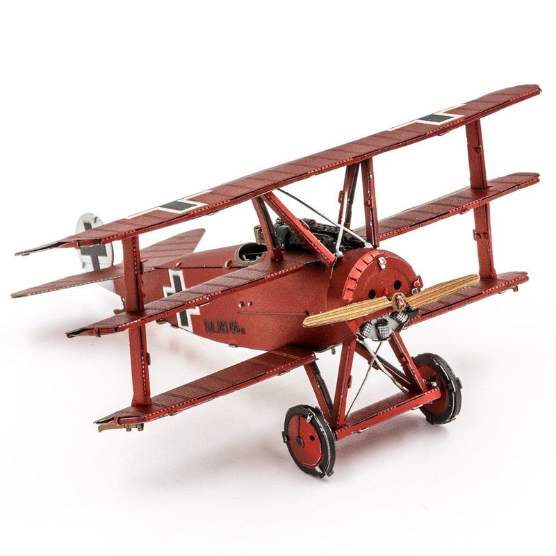 Metal Earth Fokker DR.I Triplane (Red Baron)-Metal Earth-At Play Toys