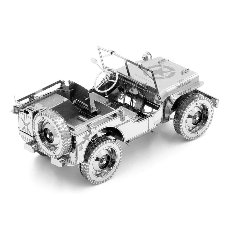 Metal Earth Premium Series Willys Overland Jeep-Metal Earth-At Play Toys
