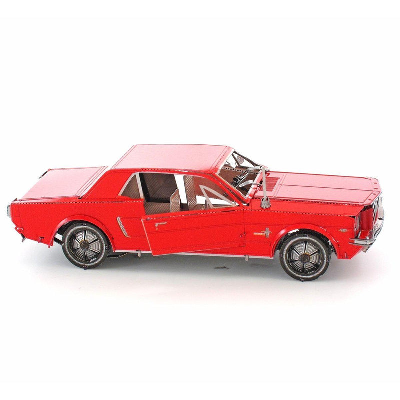 Metal Earth 1965 Ford Mustang (RED)-Metal Earth-At Play Toys