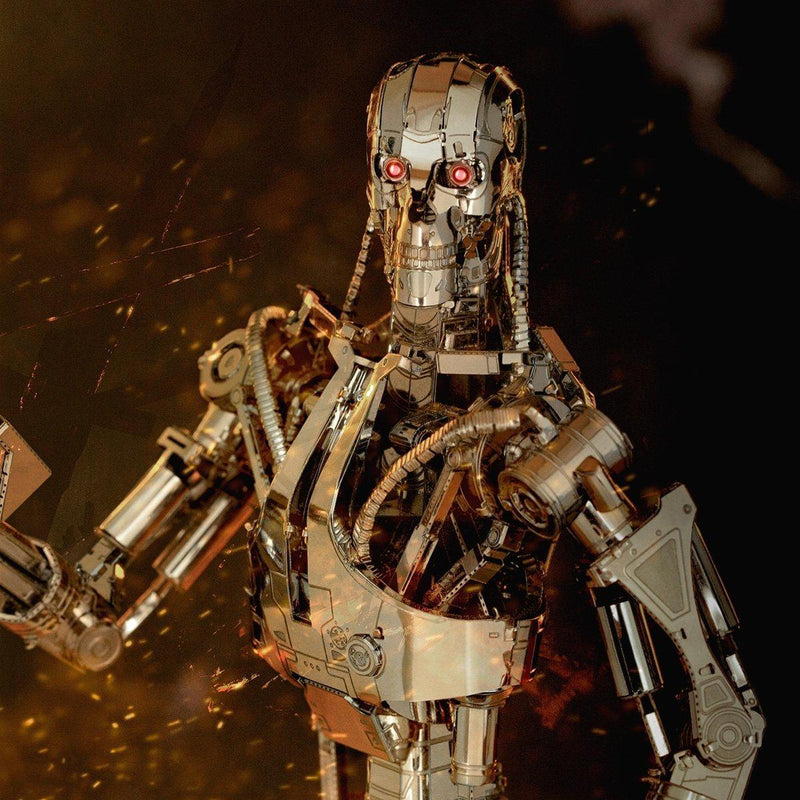 Metal Earth Premium Terminator T-800 Endoskeleton-Metal Earth-At Play Toys