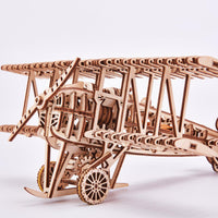 Airplane Biplane-Wood Trick-At Play Toys