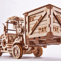 Wood Trick Forklift 3D Mechanical Model-Wood Trick-At Play Toys