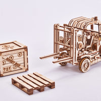 Wood Trick Forklift-Wood Trick-At Play Toys