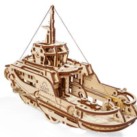 UGears Tugboat-UGears-At Play Toys