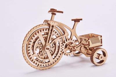 Wood Trick Tricycle Bike 3D Mechanical Model-Wood Trick-At Play Toys