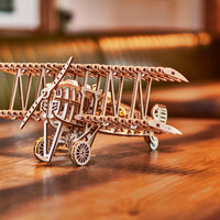 Wood Trick Airplane Biplane-Wood Trick-At Play Toys