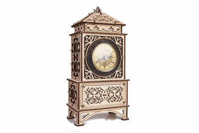 Classic Mantel Clock-Wood Trick-At Play Toys