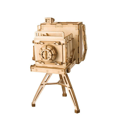Vintage Camera 3D Wood Puzzle-Rolife-At Play Toys