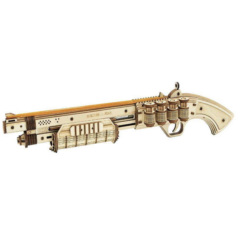ROKR Terminator M870 Rubber Band Shotgun-ROKR-At Play Toys