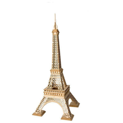 Eiffel Tower 3D Wood Puzzle-Rolife-At Play Toys