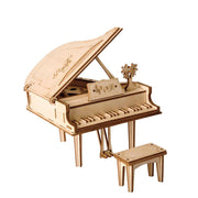 Grand Piano 3D Wood Puzzle-Rolife-At Play Toys