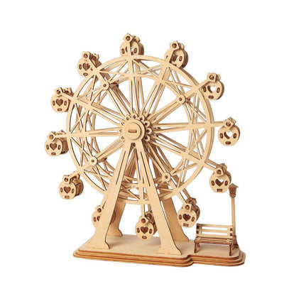 Classic Ferris Wheel 3D Wood Puzzle-Rolife-At Play Toys
