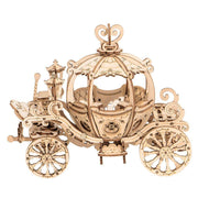 Pumpkin Carriage 3D Wood Puzzle-Rolife-At Play Toys