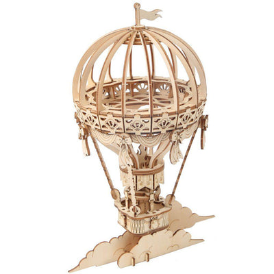 Hot Air Balloon 3D Wood Puzzle-Rolife-At Play Toys