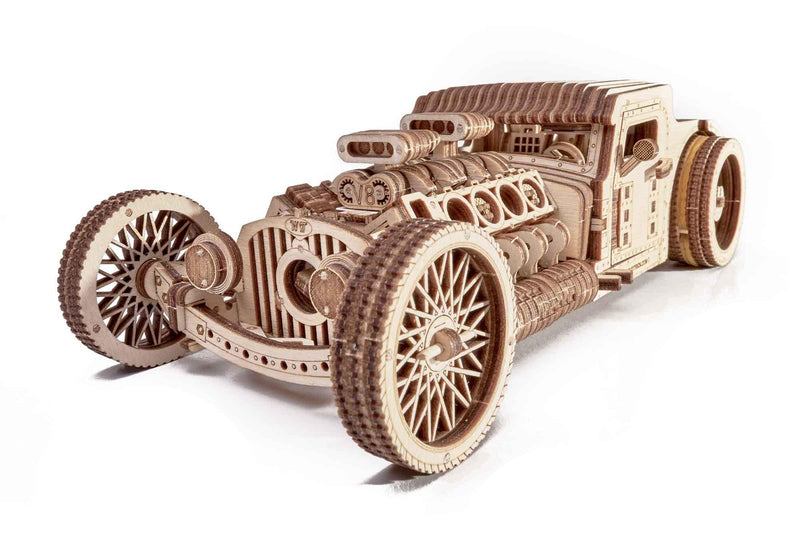 Wood Trick Hot Rod-Wood Trick-At Play Toys
