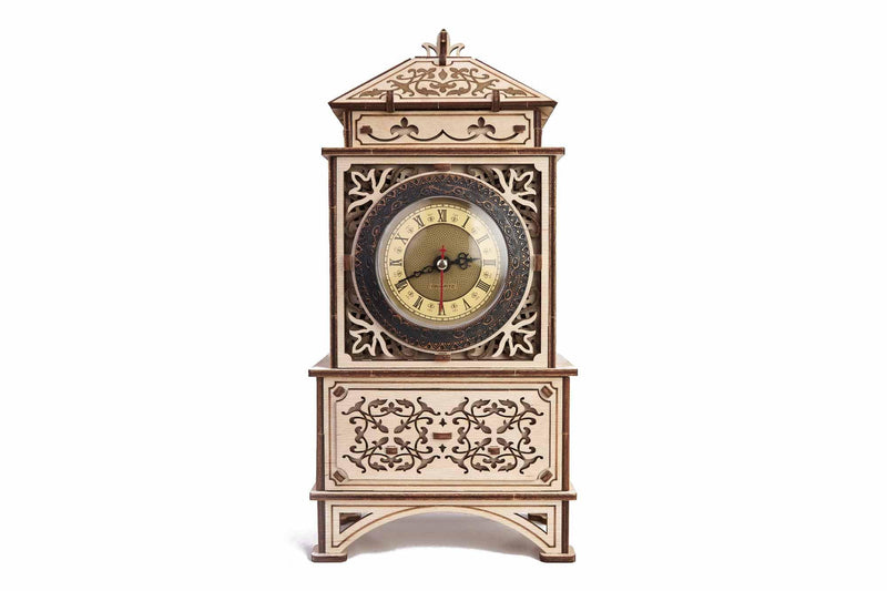 Wood Trick Classic Mantel Clock-Wood Trick-At Play Toys