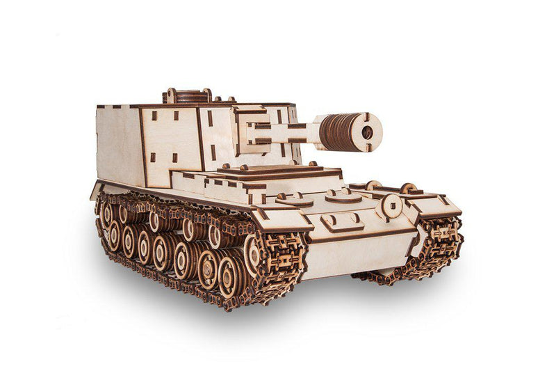 EWA 212A Experimental Soviet Tank-ECO WOOD ART-At Play Toys
