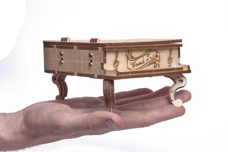 Wood Trick Grand Piano Music Box-Wood Trick-At Play Toys