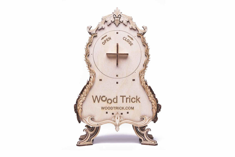 Wood Trick Vintage Mantel Clock-Wood Trick-At Play Toys