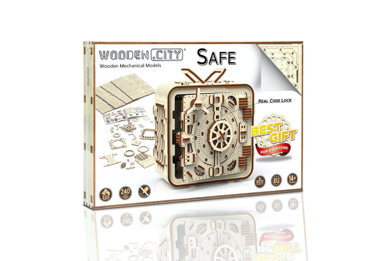 Wooden.City Safe Money Bank-Wooden.City-At Play Toys
