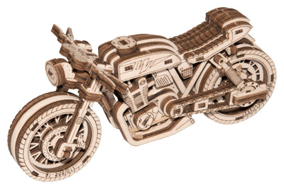 Cafe Racer Motorcycle-Wooden.City-At Play Toys