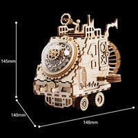 Spaceship Steampunk Music Box Kit-ROKR-At Play Toys