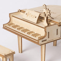 Grand Piano Wood Puzzle-Rolife-At Play Toys