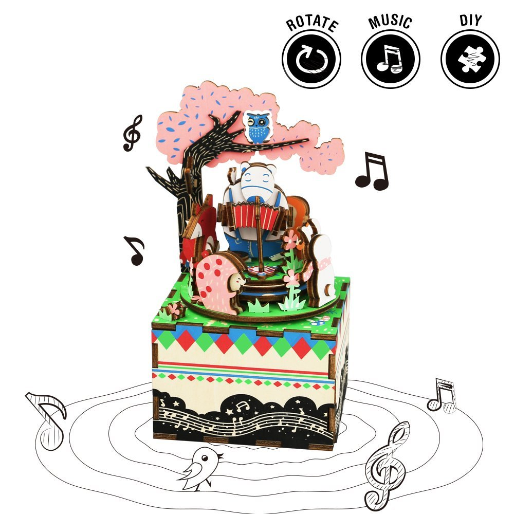 Forest Concert Music Box-Rolife-At Play Toys