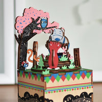 Forest Concert Music Box Puzzle-Rolife-At Play Toys