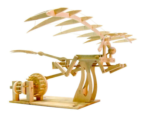 Pathfinders Leonardo DaVinci Ornithopter Wood Kit