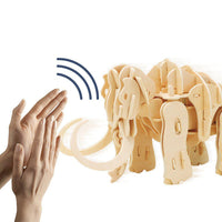 Sound Controlled Walking Mammoth-ROKR-At Play Toys