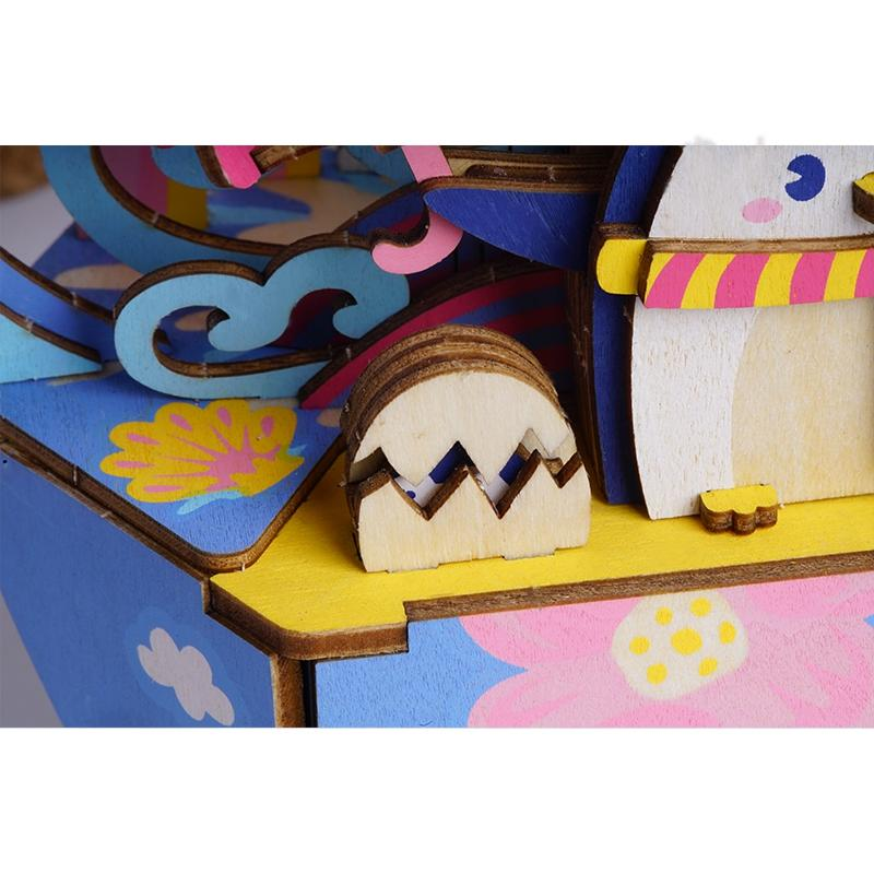 Ocean Park Music Box-Rolife-At Play Toys
