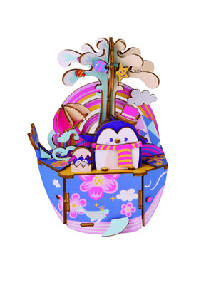 Ocean Park Music Box Puzzle-Rolife-At Play Toys