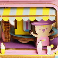 Moving Flavor Ice Cream Truck Music Box-Rolife-At Play Toys