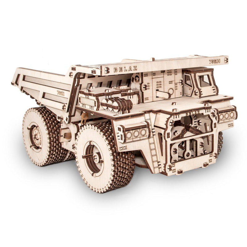EWA Belaz 75600 Dump Truck-ECO WOOD ART-At Play Toys