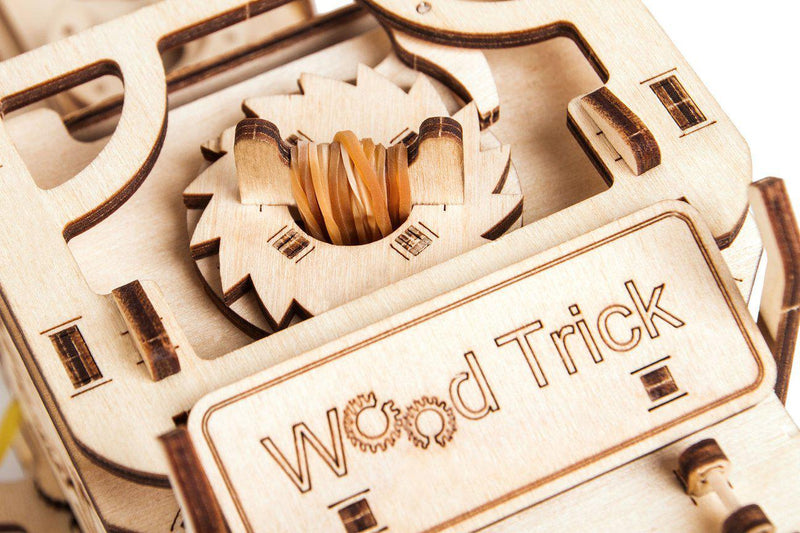 Wood Trick Big Rig Semi Truck-Wood Trick-At Play Toys