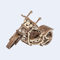 Cruiser Motorcycle-Wooden.City-At Play Toys